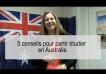 Partir étudier en Australie en 5 conseils