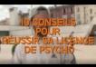 Dix conseils pour réussir sa licence de psycho