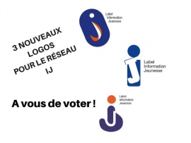 Votez pour le nouveau logo du réseau Information Jeunesse