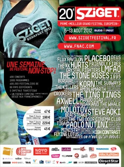 Sziget festival fête ses 20 ans en août !