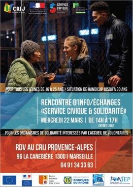 Rencontre départementale d'informations/échanges  « Service Civique et Solidarité »