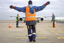 Agent de piste d'aéroport