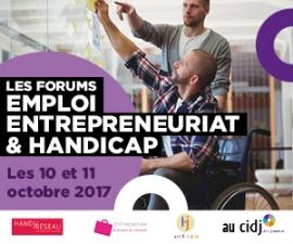 Partenaires présents sur le Forum EnTHreprendre, Mercredi 11 octobre 2017, au CIDJ