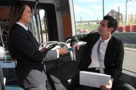 Commercial à bord des trains