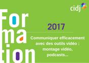 Communiquer efficacement avec des outils vidéo : montage vidéo, podcasts...