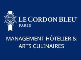 Le Cordon Bleu Paris propose deux diplômes de Bachelors en management hôtelier international
