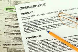 Rédigez votre CV en VO