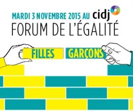 Partenaires du Forum de l'égalité filles-garçons - CIDJ 03/11/2015