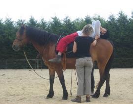 Je suis spécialiste de la thérapie avec le cheval
