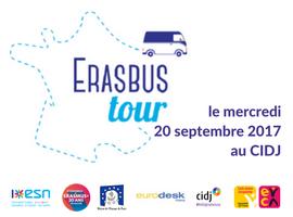 Erasbus Tour : départ du CIDJ le mercredi 20 septembre 2017