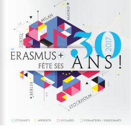 En 2017, Erasmus a 30 ans !