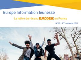 Parution d'Europe Information Jeunesse 53, la lettre du réseau Eurodesk en France