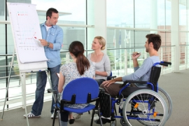 Jeunes handicapés : s'inscrire dans l'enseignement supérieur