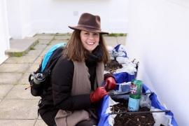 """Créer son entreprise dans l'économie sociale et solidaire : 24 heures avec Margaux, co-fondatrice de """"Les mauvaises herbes"""""""