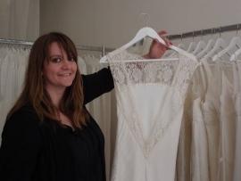 Les robes de créateurs ont la cote auprès des futures mariées