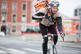 Job de coursier à vélo