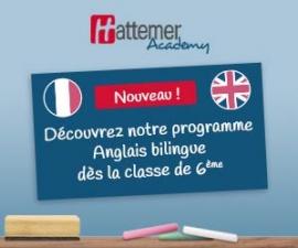 Hattemer Academy lance le 1er programme anglais bilingue à distance, dès la 6ème
