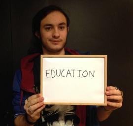 [#Presidentielle2017] Maxime, 18 ans : Il ne faut pas avoir peur de réformer en profondeur l'éducation
