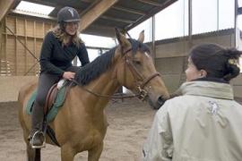 Monitrice d'équitation / Moniteur d'équitation