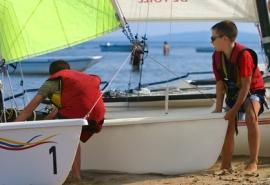 Moniteur d'activités nautiques