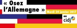 Partenaires présents sur le Forum Partir pour étudier ou travailler : Osez l'Allemagne au CIDJ le 24 janvier 2017 au CIDJ