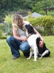 J'éduque des chiens guides que je confie à des familles d'accueil