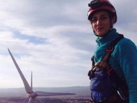 Céline, technicienne de maintenance sur éolienne : être autonome et très à l'aise en hauteur