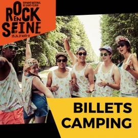 Envie de dormir dans un monument historique ? C'est le moment de réserver sa place de camping sur le festival Rock en Seine