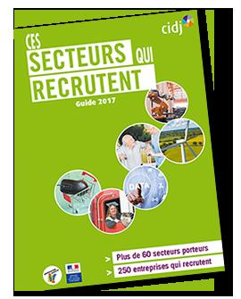 """Guide """"Ces secteurs qui recrutent"""""""