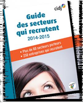 Parution du Guide des secteurs qui recrutent 2015
