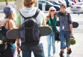 Piéton, rollers et skate: droits et obligations