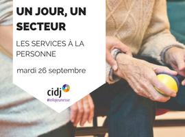 Le secteur des services à la personne recrute : RDV mardi 26 septembre au CIDJ