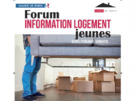 Forum Information Logement Jeunes au CIDJ le samedi 17 juin 2017