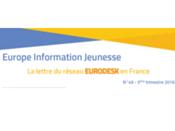 Parution d'Europe Information Jeunesse 49, la lettre du réseau Eurodesk en France