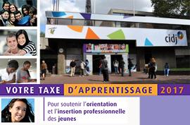 Versez votre taxe d'apprentissage au CIDJ et soutenez l'orientation et l'insertion professionnelle des jeunes