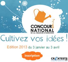 Créez votre entreprise : 5e édition du concours national