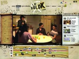 L@-Kolok.com, nouvelle web-série interactive