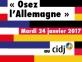 Osez l'Allemagne 2017
