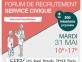 Forum recrutement service civique 31 mai 2016