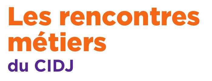 Logo Rencontres métiers du CIDJ
