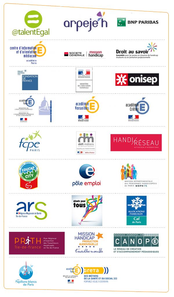 logos partenaires handijeunes