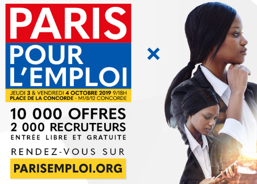paris pour l u0026 39 emploi 2019
