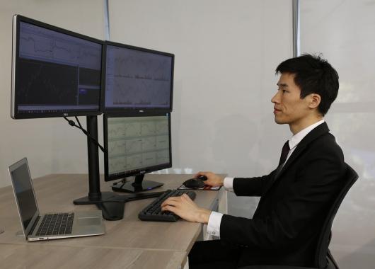 metier trader ordinateurs